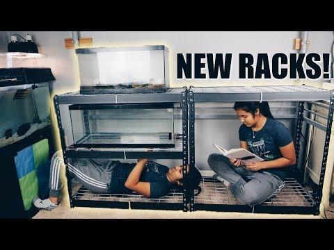 NEW TURTLE TANK STAND!!! | Aquarium Rack Redo