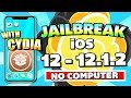 How To JAILBREAK iOS 12 - 12.1.2 (NO COMPUTER / VERIFICATION) With CYDIA on iPhone, iPad, iPod Touch