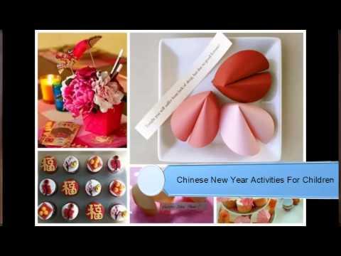 Chinese New Year Activities For Children - YouTube
