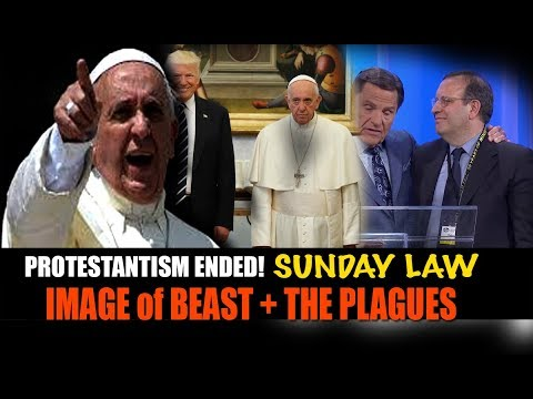 God's CURSE Announced on Pope Francis/666 as SUNDAY LAW Draws Near + END of Protestantism