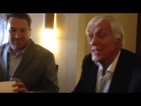 DICK VAN DYKE Serenades Cute 4-Year Old Fan STEP IN TIME