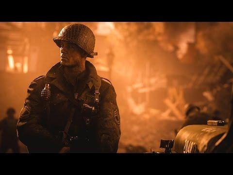 Call of Duty®: WWII – первый трейлер [RU]