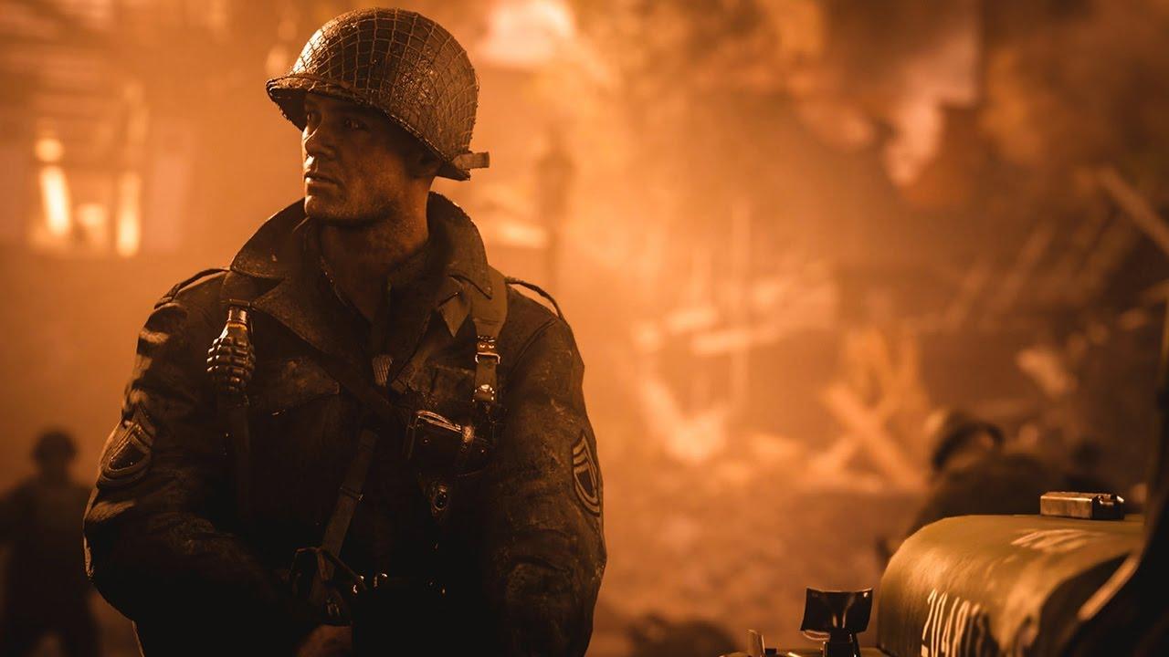 Call of Duty: WWII — Первый трейлер