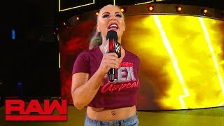 Dana Brooke offers inspiration during the commercial break: Raw Exclusive, June 24, 2019