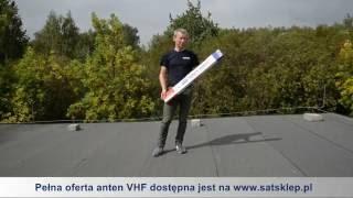 Montaż anteny VHF 4B3