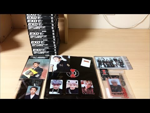 "EXO ""Don't Mess Up My Tempo"" Goods Haul Ft. DMUMT Albums"