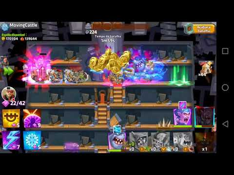 Monster castle - Dom fortles 370+ No extra troops.