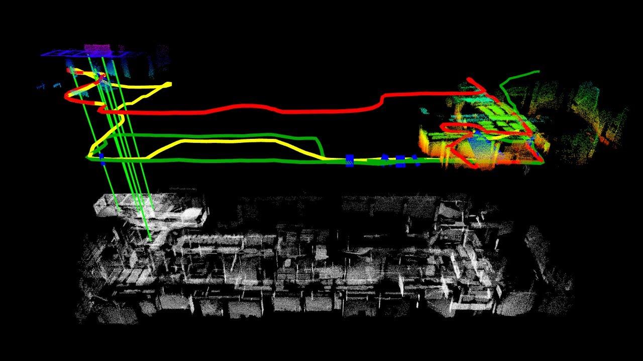 An Online Multi-Robot SLAM System for 3D LiDARs