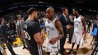 Stephen Curry Duels Jarrett Jack in Oracle