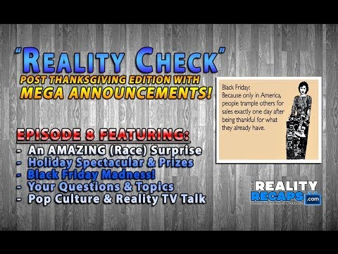 Reality Check EP8:  Reality TV Gossip, Pop Culture & HUGE ANNOUNCEMENTS!