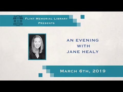 Flint Memorial Library Presents An Evening with Jane Healey 03/06/19