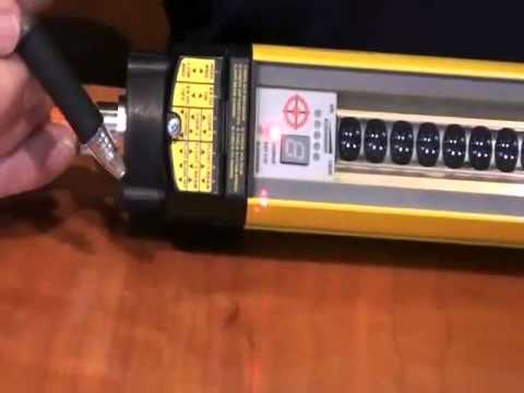 C4000 Select Safety Light Curtain Demonstration  YouTube