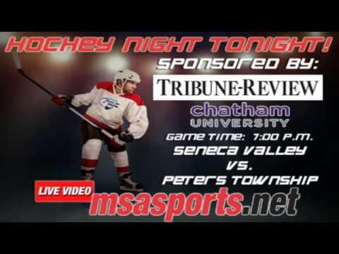 MSA Sports Spotlight Game - Hockey:  Seneca Valley vs. Peters Township  1-3-17