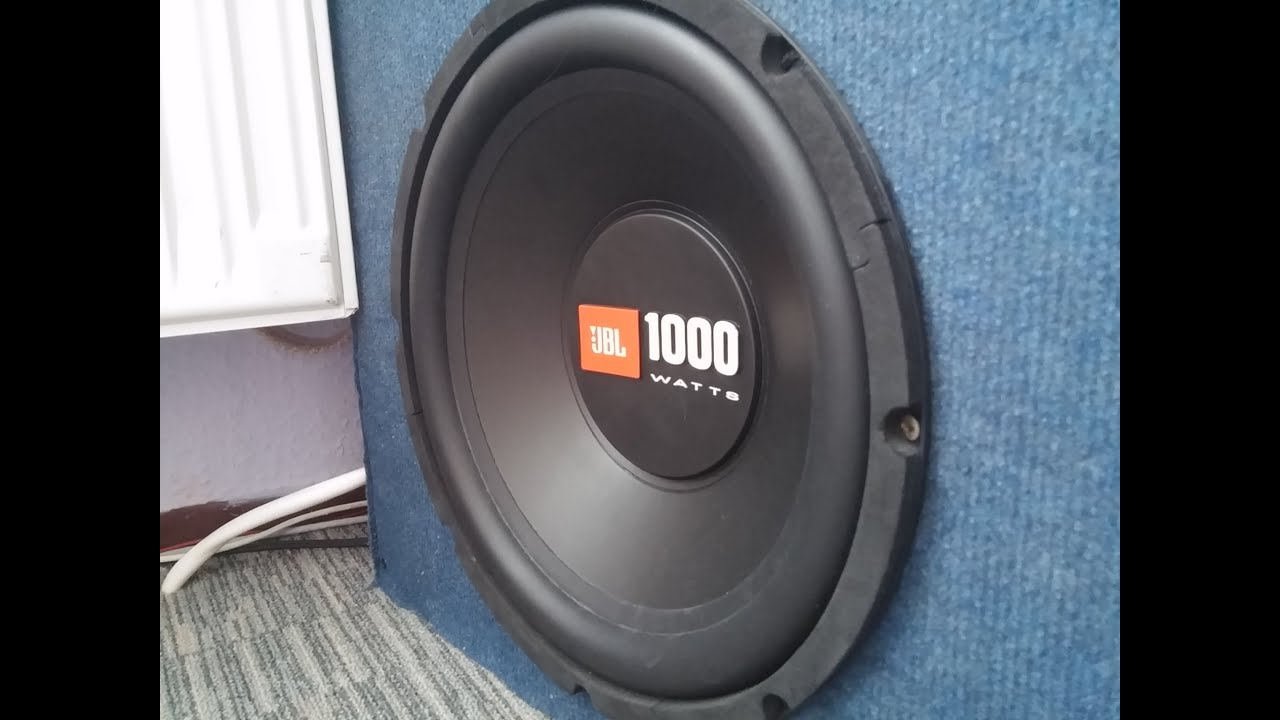 Jbl Bass Jbl Subwoofer Bass Test