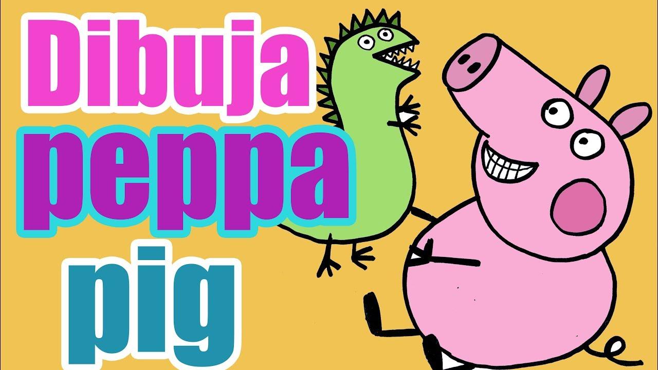 Peppa Pig Dibujos Para Colorear Como Dibujar A Pepa Pig