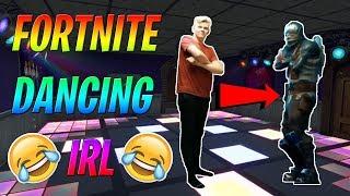 Fortnite Dancing IN REAL LIFE (RHT Segment)