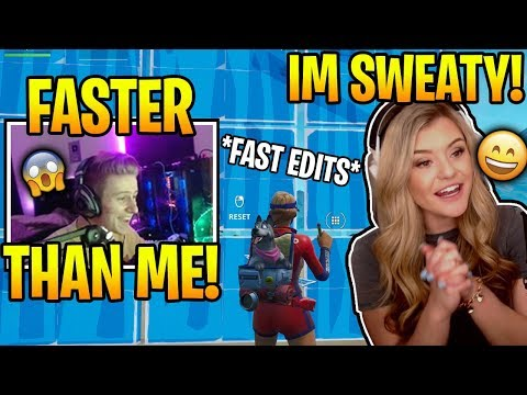 Symfuhny IMPRESSED When Brooke Showed Him FAST Editing & PERFECT 90&39;s After He Called Her A BOT