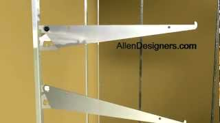 Diy Hardware Adjustable Shelf Brackets