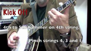 Cold Frosty Morning Banjo Lesson 1 with practice video A by Rob Bourassa