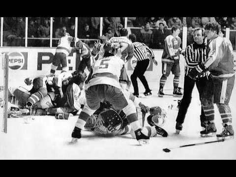 Looking Back at the 1987 World Junior Canada-USSR Brawl
