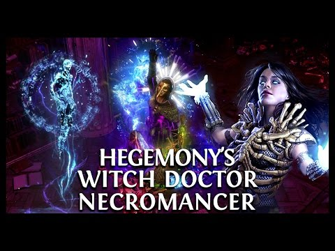 Path of Exile Ascendancy: Hegemony's Null's Inclination Witch Doctor!