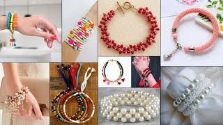 Fancy! Easy 10 Bracelet Making Ideas | Handmade Jewelry