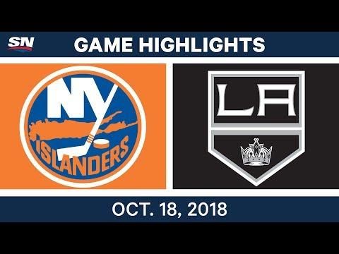 NHL Highlights | Islanders vs. Kings - Oct. 18, 2018