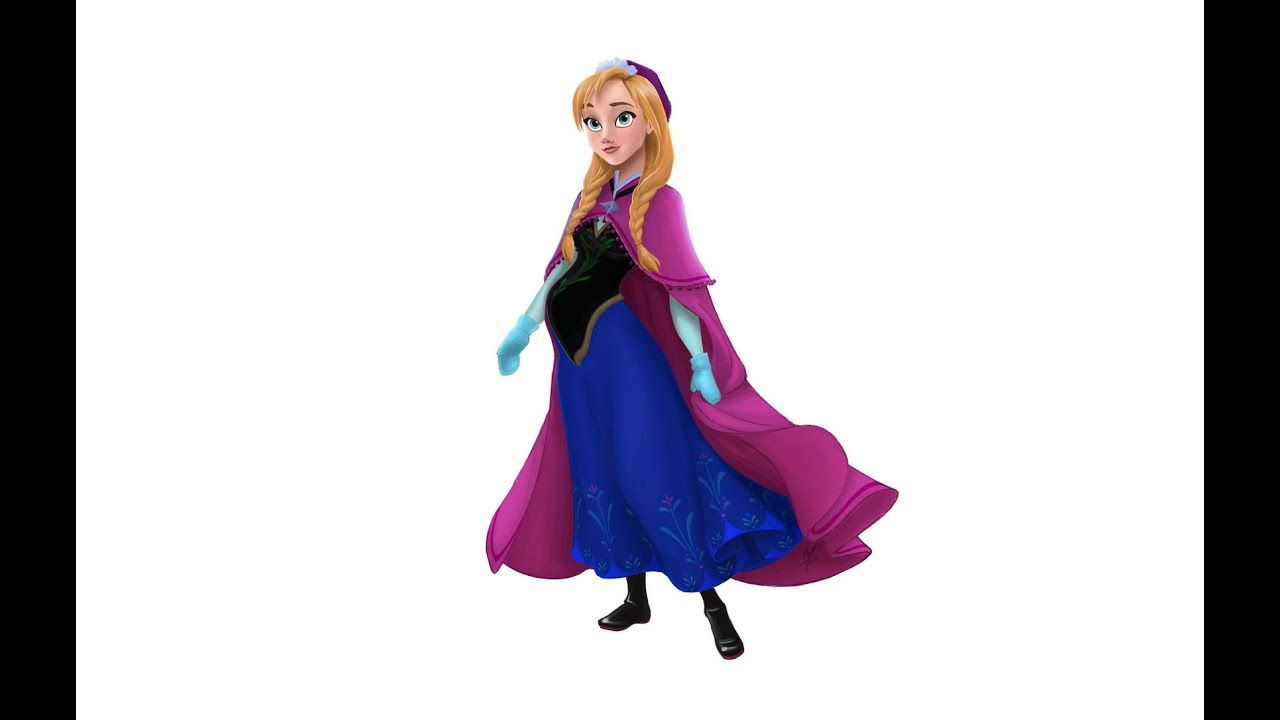Anna Frozen Fashion Mommy Style Dress Up Game For Girls Youtube