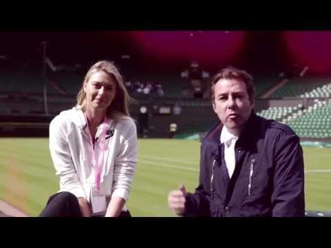Ask Maria Sharapova…with Jonathan Ross