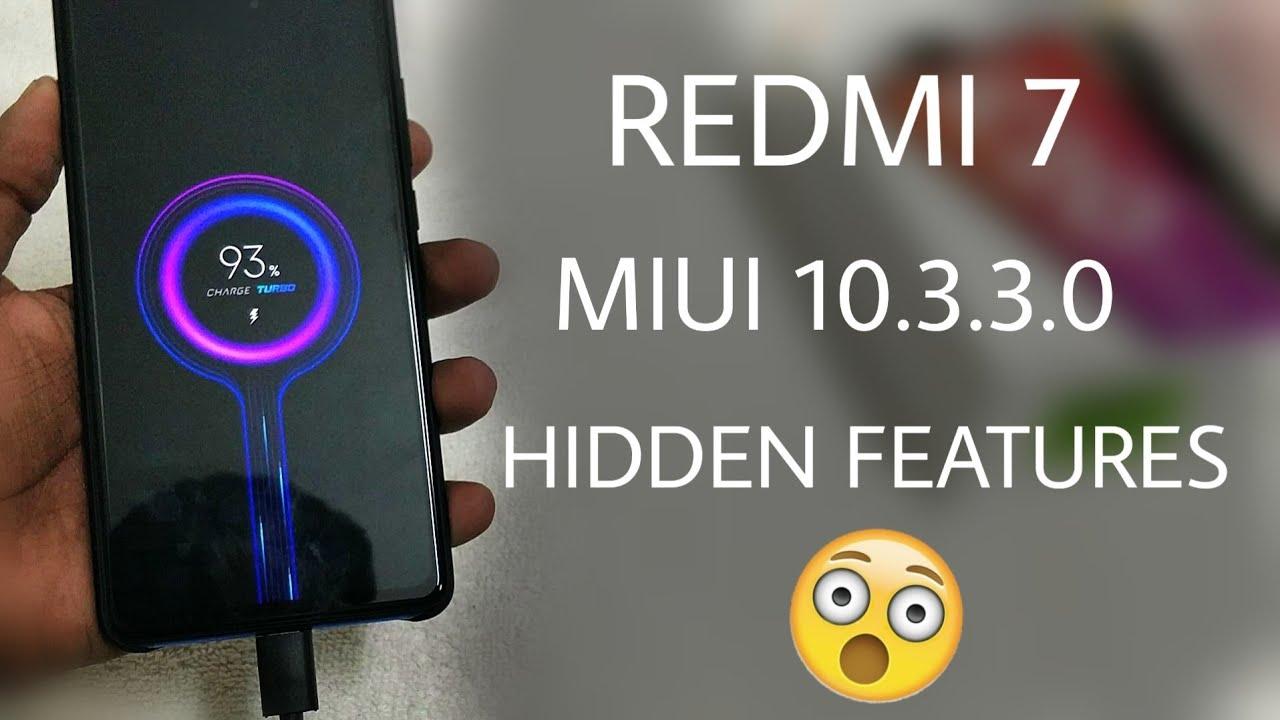 Redmi 7 Update Features miui 10 3 3 0 | Hidden Features