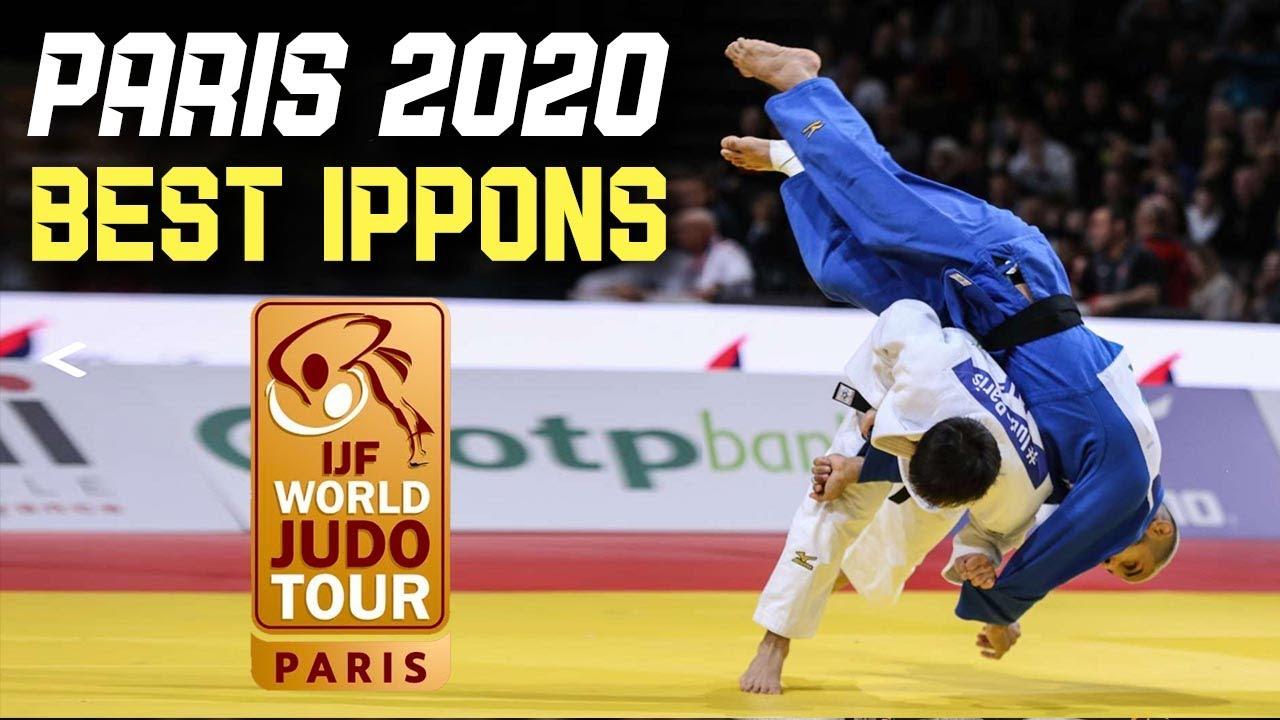 Top Judo Ippons from Paris Judo Grand Slam 2020