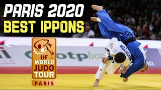 Top Judo Ippons from Paris Judo Grand Slam 2020