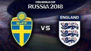 FIFA World Cup 2018 - Sweden vs England - 07/07/2018