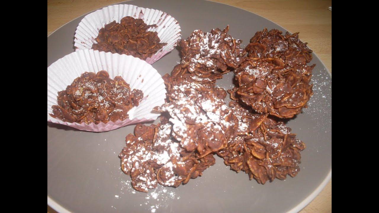 comment faire des roses des sables au chocolat dessert facile