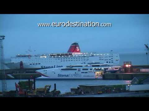 Fishguard Rosslare Ferry Stena Europe - Review