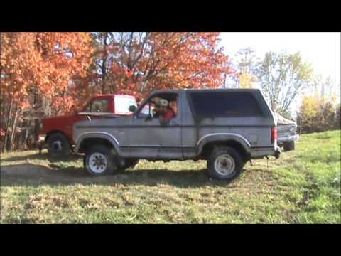 1981 Ford Bronco 2-Year Cold Start and Drive