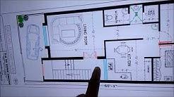 20 X 55 FEET BEST HOUSE PLAN