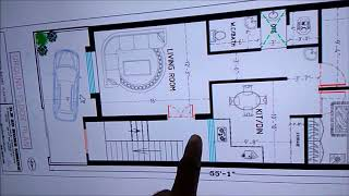 20 X 55 FEET BEST HOUSE PLAN