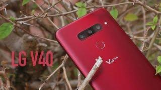 LG V40 Review: ¯\_(ツ)_/¯