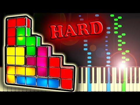 TETRIS THEME - Piano Tutorial