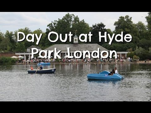 Hyde Park Day Out in London