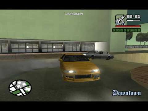 GTA San Andreas - Skyline GT-R32 Mod