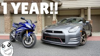 Owning The 2007 Yamaha R6! *ONE YEAR UPDATE*