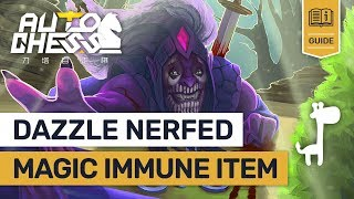 DAZZLE NERFED?! Dota Auto Chess PATCH Notes NEW UPDATE Item BLACK KING BAR!