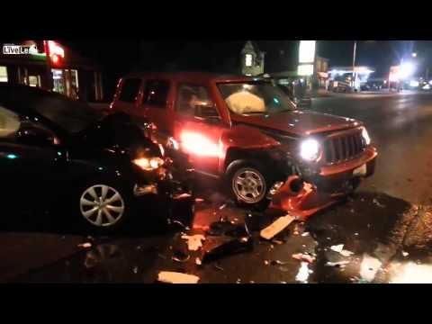 INTOXICATED Driver Causes Major Accident!