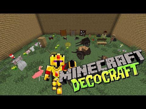 [FR]-TUNE TES MAPS-DECOCRAFT !-Présentation de mods-[Minecraft 1.7.10]