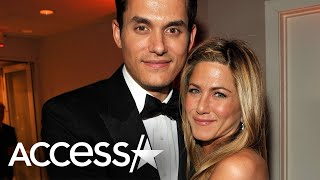 Jennifer Aniston And Ex John Mayer Spotted Leaving Hollywood Hot Spot Moments Apart