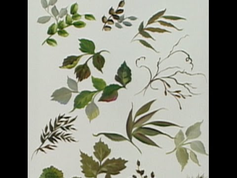 """The Beauty of Oil Painting, Series 1, Episode 24 """" Foliage Techniques """""""
