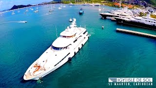 Need a Place to Dock Your $100MILLION MEGA-YACHT?  In St Maarten, SXM, CARIBBEAN