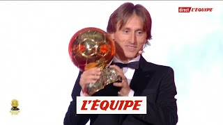 Luka Modric, les images du sacre - Foot - Ballon d'Or